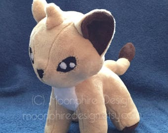 Lion Plushie / Cat Plush Toy / Cub Stuffed Animal
