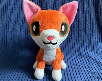 Cat Plushie / Plush Toy / Kitten Stuffed Animal