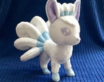 Fox Alolan Vulpix Plush Stuffed Animal