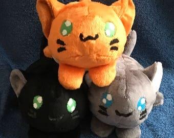 Cat Loaf Plushie / Plush Toy / Kitten / Kitty Roll Stuffed Animal