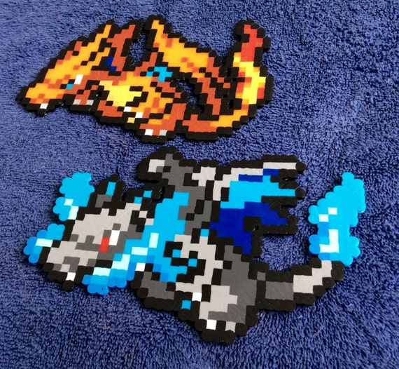 Mega Dracaufeu Pixel Art