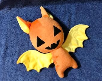 Halloween Pumpkin Bat Plushie / Plush Toy