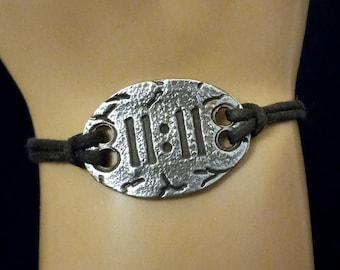11:11 Bracelet 1111 Make a Wish 1111 Spiritual Numerology Jewelry Ascention Jewelry Gift Interfaith Multifaith adjustable Bracelet