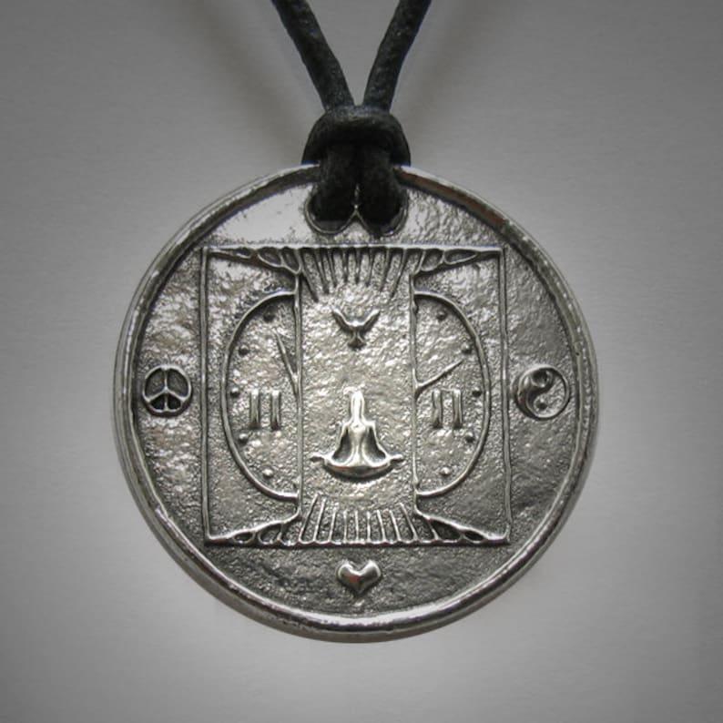11:11 1111 Art Necklace Interfaith Multifaith Awakening Make a image 0