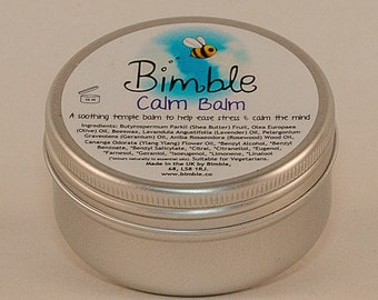 Bimble Calm Balm Soothing Natural Shea Butter Temple Balm