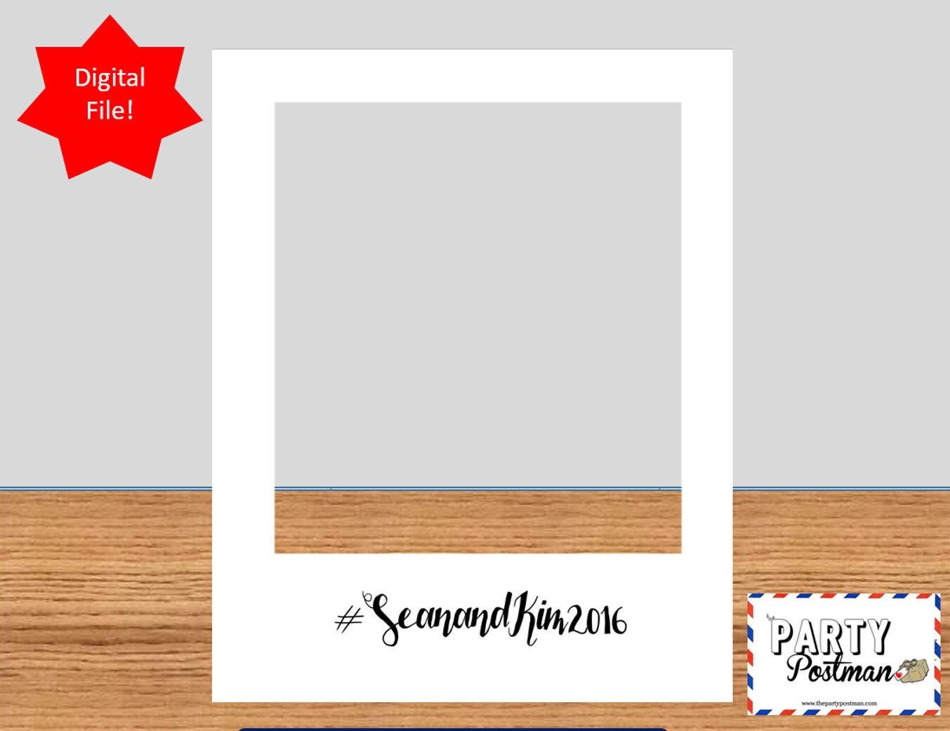 Individuelle Foto-Rahmen-Photobooth Prop Instagram Stütze nur