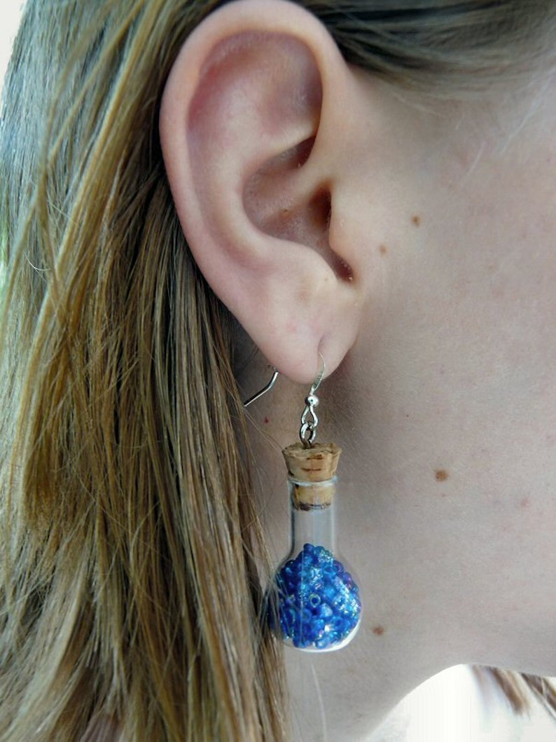 Alice in Wonderland Elixir Earrings image 0