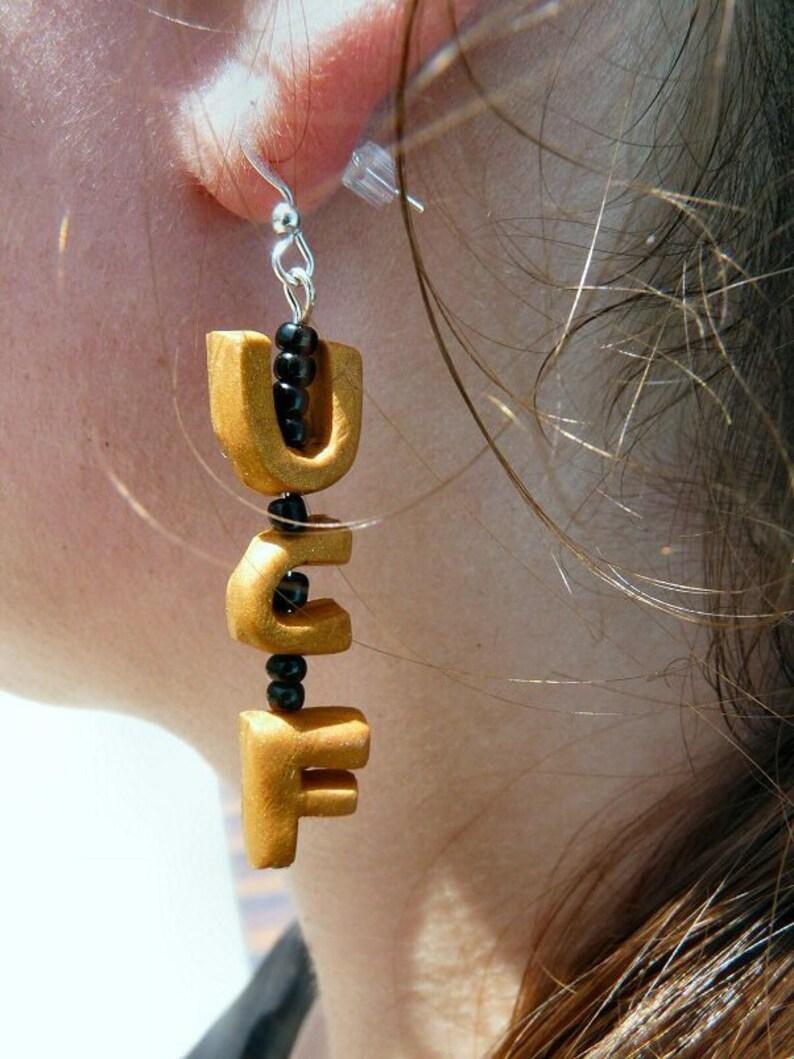 UCF Earrings image 0