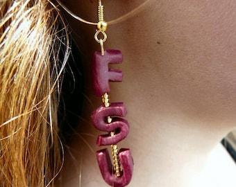 FSU Earrings