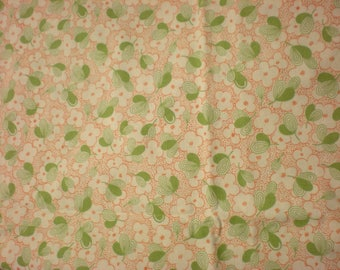 Quilting cotton  Moda Wee Play 1 1/2 Yards Green Orange Fabric