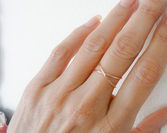 Sterling Silver Rings//Infinity Ring//Hammered Infinity//Women Rings//Handmade Jewelry//Jewelry Gifts Under 25