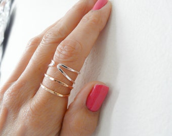 Sterling Silver Ring//Adjustable Ring//Women Rings//Handmade Jewelry For Her