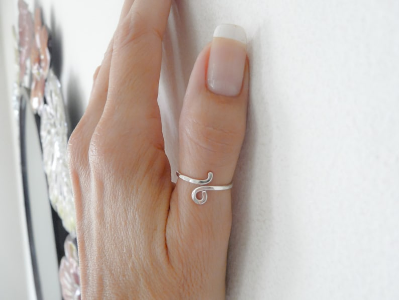 Thumb Rings for WomenSterling Silver RingSilver RingsHandmade JewelryGifts Under 20