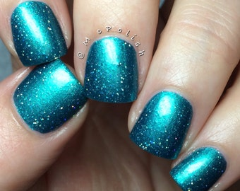 UnTEAL We Meet Again handcrafted artisan nail polish