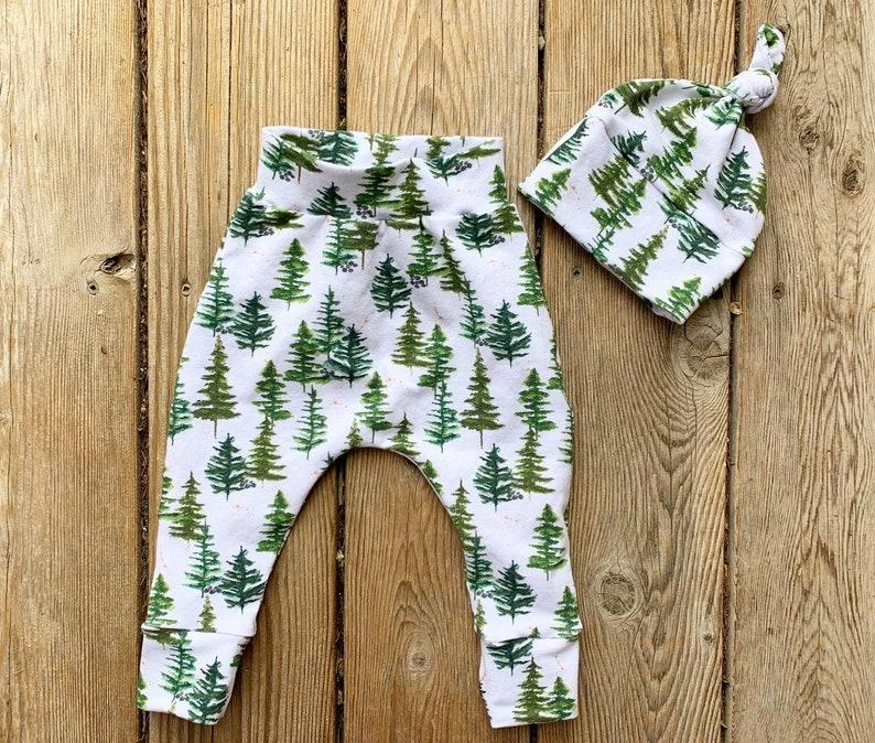 Toddler Pants Woodland Baby Shower Baby Boy Mountain Pine Creek Jogger