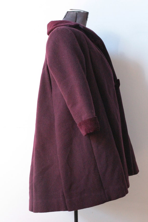Vintage Childrens Purple Wool Rothschild Princess… - image 9