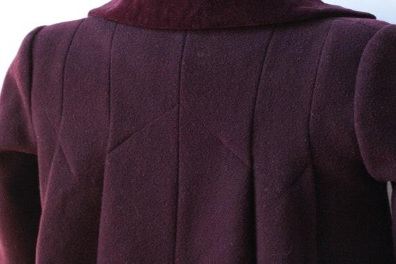 Vintage Childrens Purple Wool Rothschild Princess… - image 8