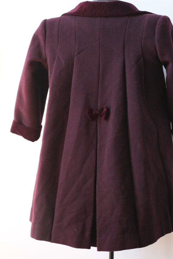 Vintage Childrens Purple Wool Rothschild Princess… - image 7