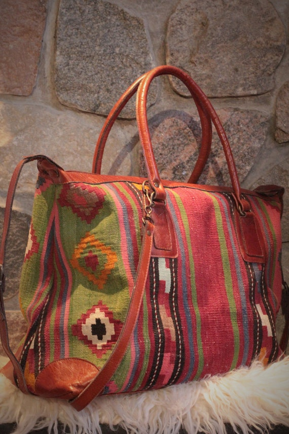 The Nomadic Collection Tapestry Weekender Bag