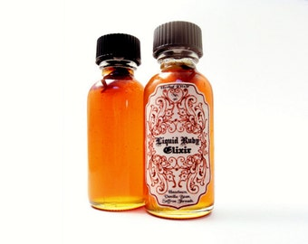 Infused Honey- Liquid Ruby Elixir. Gourmet Flavored Honey: Saffron, Hazlenut, Vanilla Bean. 1oz.
