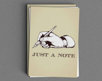 Just A Note Card or Print