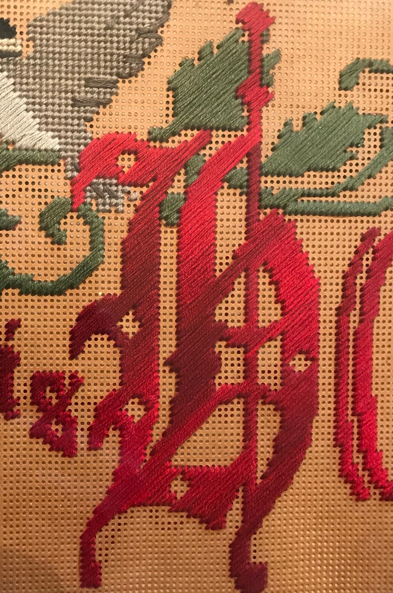 Victorian Motto Sampler Stitch Kit Bless This House