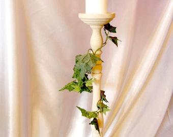 Tall Wedding Centerpiece Wooden Flower/Candle Holder