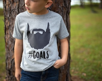 Father Son Matching Shirts, Beard Shirt, Kids Beard Shirt, Beard Goals - Future Beard Shirt - Boys Beard Shirt - Fathers Day Shirt