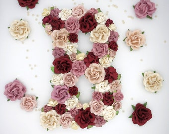 Custom Floral Letters
