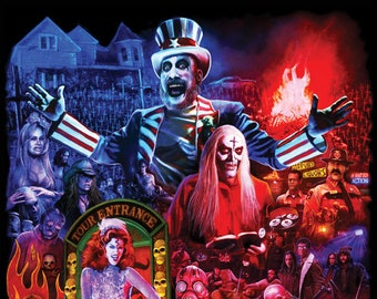House of 1000 Corpses 11X17 Signed by Joel Robinson