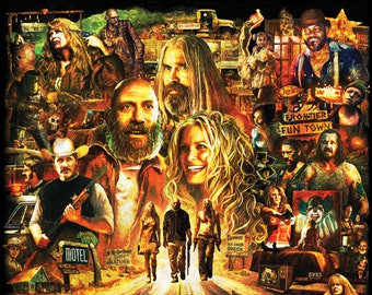 The Devil's Rejects 11X17 Signed Poster