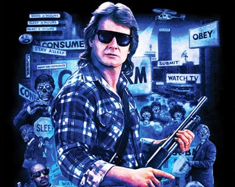 They Live 11X17 Signed by Joel Robinson