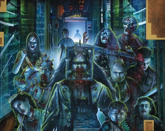 13 Ghosts 11X17 Signed by Joel Robinson