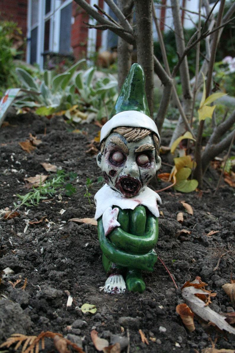 Ralph The Zombie Christmas Elf Green image 0