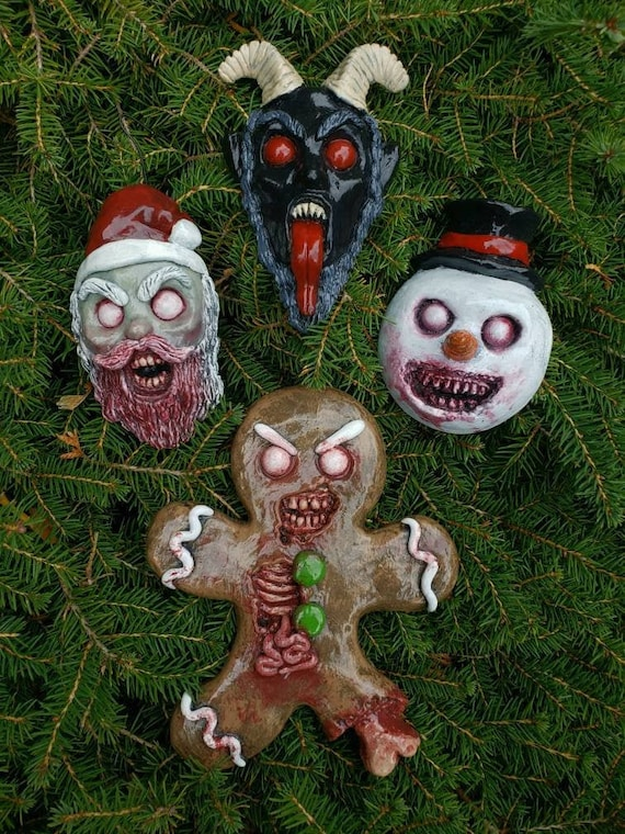 Horror ornament
