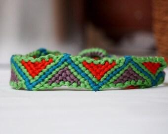 Ready to ship, Watermelon Friendship Bracelet