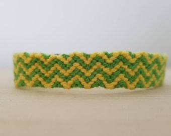 Ready to ship, Snake friendship bracelet, free shipping