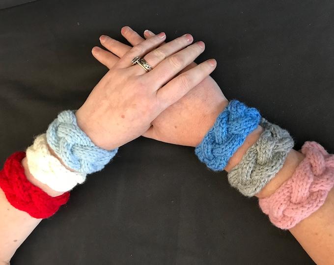 Plait Cuff Knitting Pattern