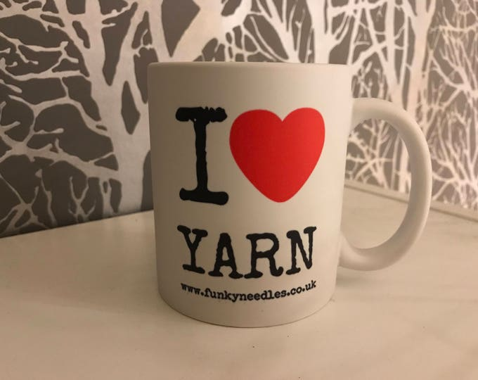 Deluxe Handmade Yarn Mug, New Designs, 3D Matte Finish