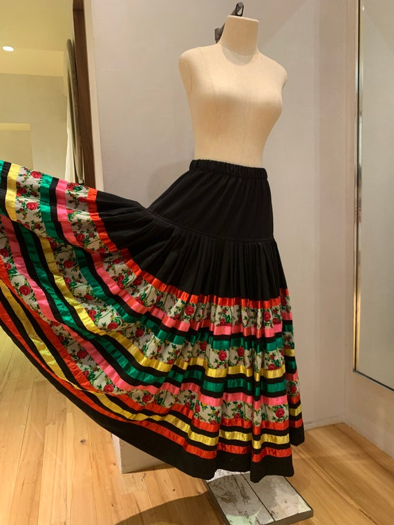 Mexican style Dancing skirt