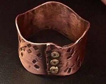 Copper Corset Ring