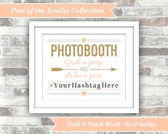 Wedding Photobooth Sign - Printable