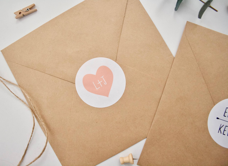 wedding stickers personalised wedding envelope stickers