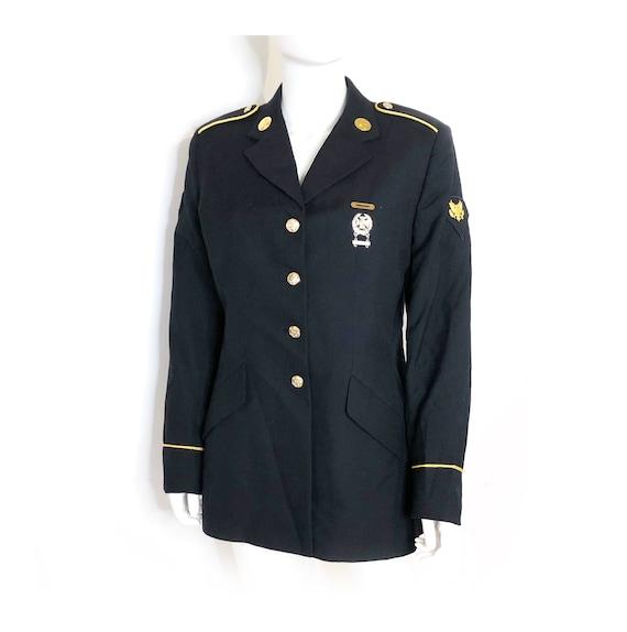 American Army jacket, dress blues, official USA MI