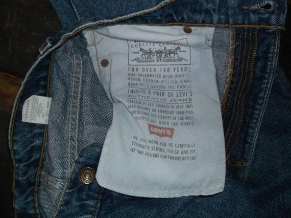Vintage jeans, vintage Levis, 550s, mens, unisex,… - image 4