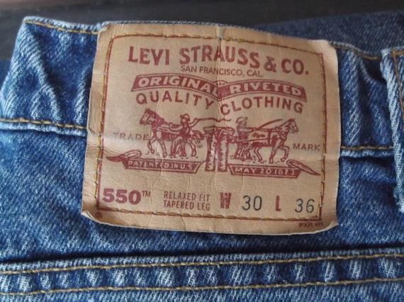 Vintage jeans, vintage Levis, 550s, mens, unisex,… - image 5