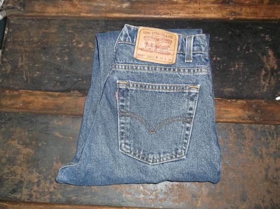 Vintage jeans, vintage Levis, 550s, mens, unisex,… - image 2