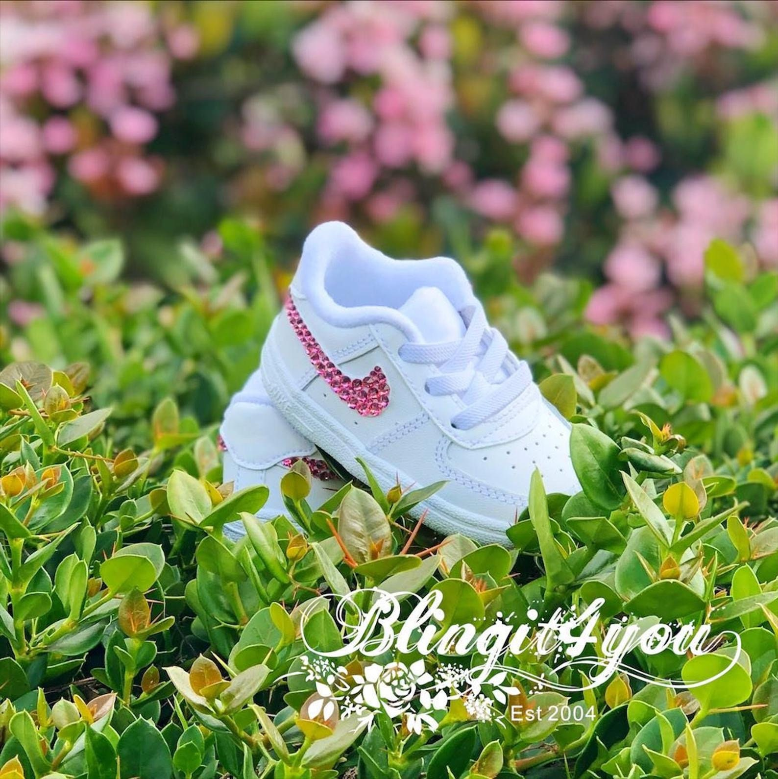 Bling Baby Nike Crystal Infant shoes