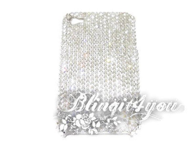 innovative design 777a0 7dc39 Handmade for iPhone 10 X XS ss16 Swarovski Crystal Clear Rhinestone Phone  case Custom make Bling iPhone 10 Case Luxury BEST Gift for her