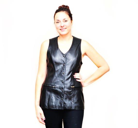 Ladies Snake Skin Leather Pants - Designer Womens… - image 8